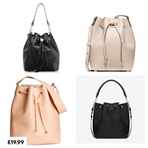 Spring's bucket bag trend for all budgets