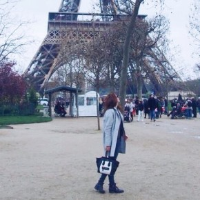 Paris outfit 2: Black and grey whatever the weather